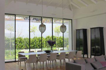 עיצוב חלונות בפרופיל בלגי